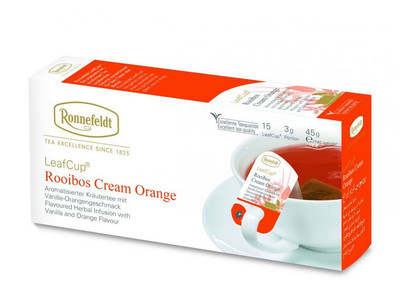 Herbata Ronnefeldt Cream Orange Rooibos 15 torebek